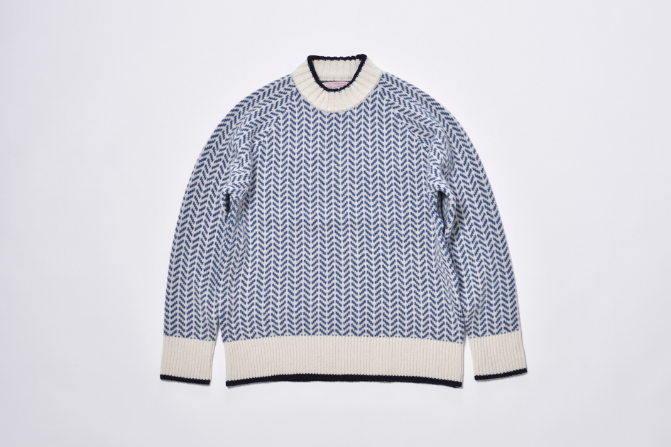 逆ハの字セーター